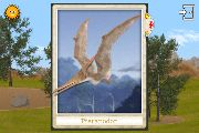 Bobble head card of pteranodon